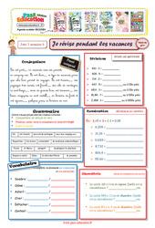 Cahiers de vacances à imprimer – Cm2 vers la 6ème – Semaine 6 – Août