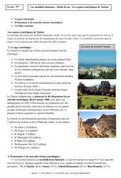 Mobilités humaines – La Tunisie -  Etude de cas – 4ème – Géographie