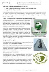 Entreprises transnationales – Etude de cas – 4ème – Géographie