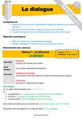 Apprendre à écrire un dialogue – CM1 – CM2 – Exercices – Production d'écrit