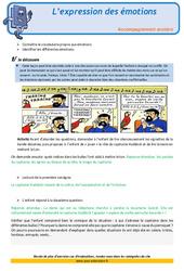 L'expression des émotions - CM1- Soutien scolaire - Aide aux devoirs