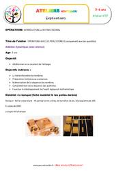 Addition dynamique – Opérations avec les perles dorées