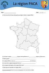 Provence-Alpes-Côte d'Azur PACA – Etude de la région – Ce2 – Cm1 – Cm2 – Géographie